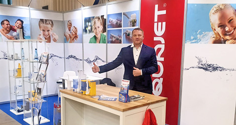 Baltic Days of Dentistry – AQUAJET at the dental exhibition in Vilnius, Lithuania