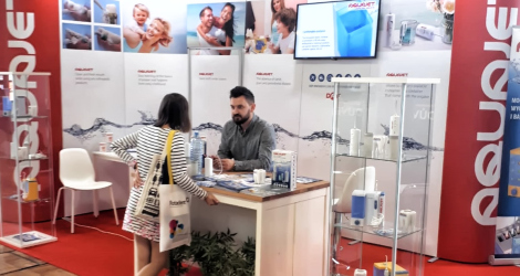 AQUAJET oral irrigators at the DENTAL FAIR exhibition in Prague